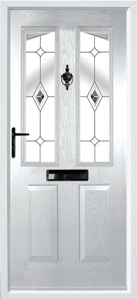 Harlech composite door - diamond