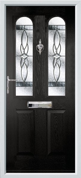 Nottingham composite door - black