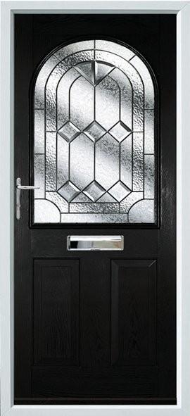 Stafford composite door - black