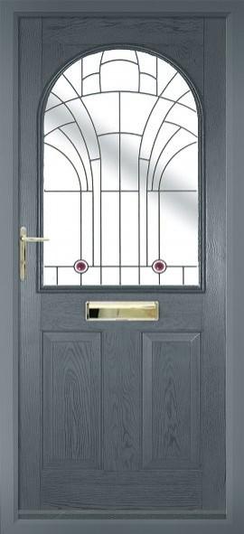 Stafford composite door - grey