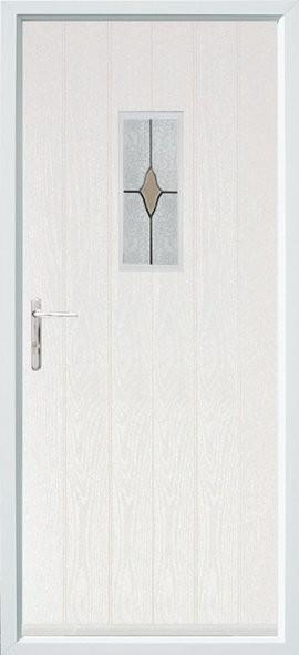 Flint composite door