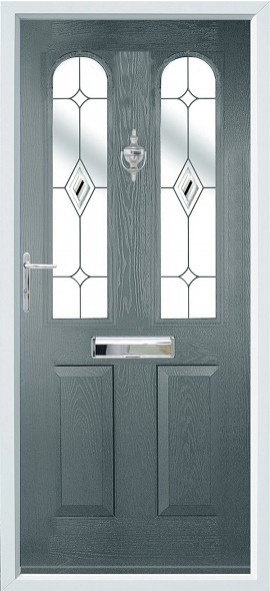 Nottingham composite door - grey