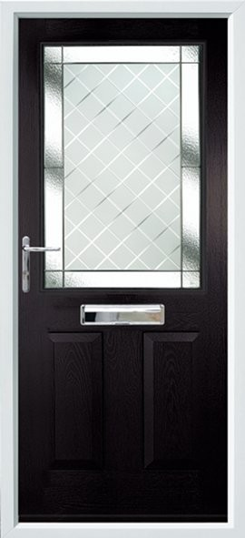 Beeston composite door - Black