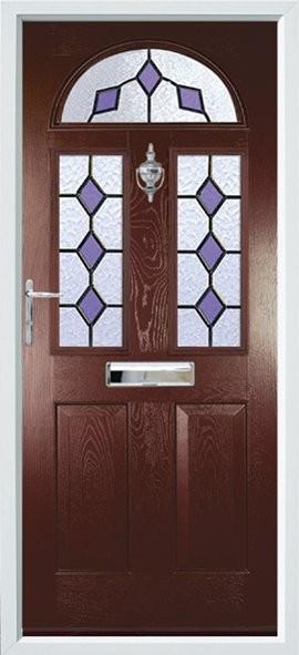 Conway composite door - Mocha
