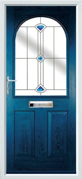 Stafford composite door - blue
