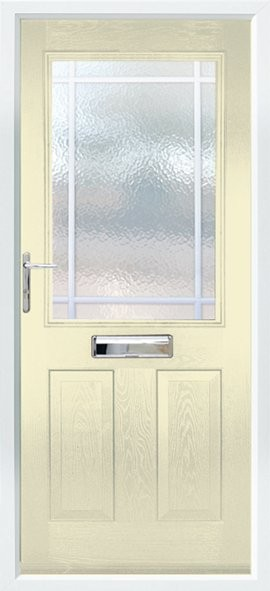 Beeston composite door - Cream