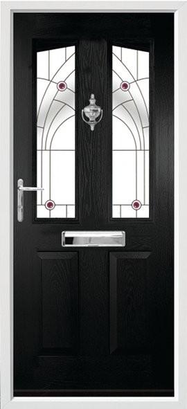 Harlech composite door - jewel