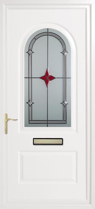 Trinity Red Star upvc panel door from Bicester UPVC direct