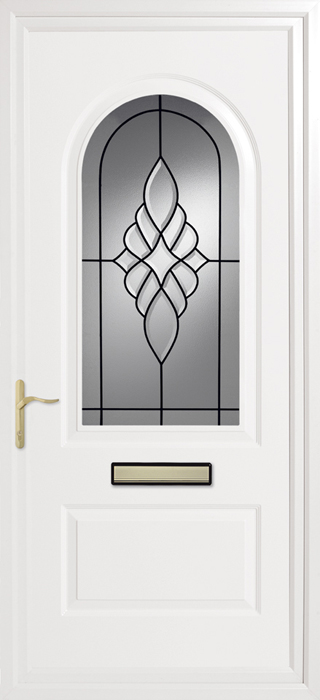 Trinity Royale Clear Inverted Mouldings uPVC panel door from Bicester UPVC direct