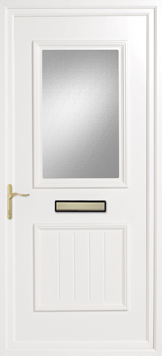 Yelling Rainbow Blue upvc panel door from Bicester UPVC direct