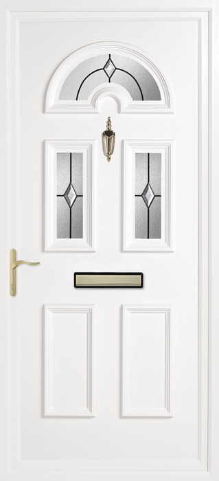 Yelling Clear upvc panel door from Bicester UPVC direct