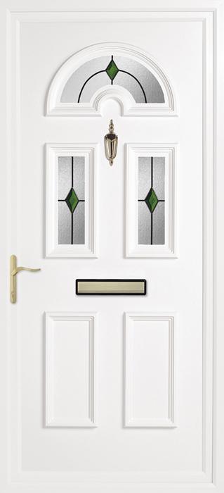 Yelling Emerald upvc panel door from Bicester UPVC direct