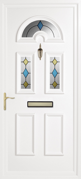 Yelling Emerald upvc panel door from Bicester UPVC direct