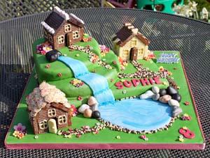 Chocolate village