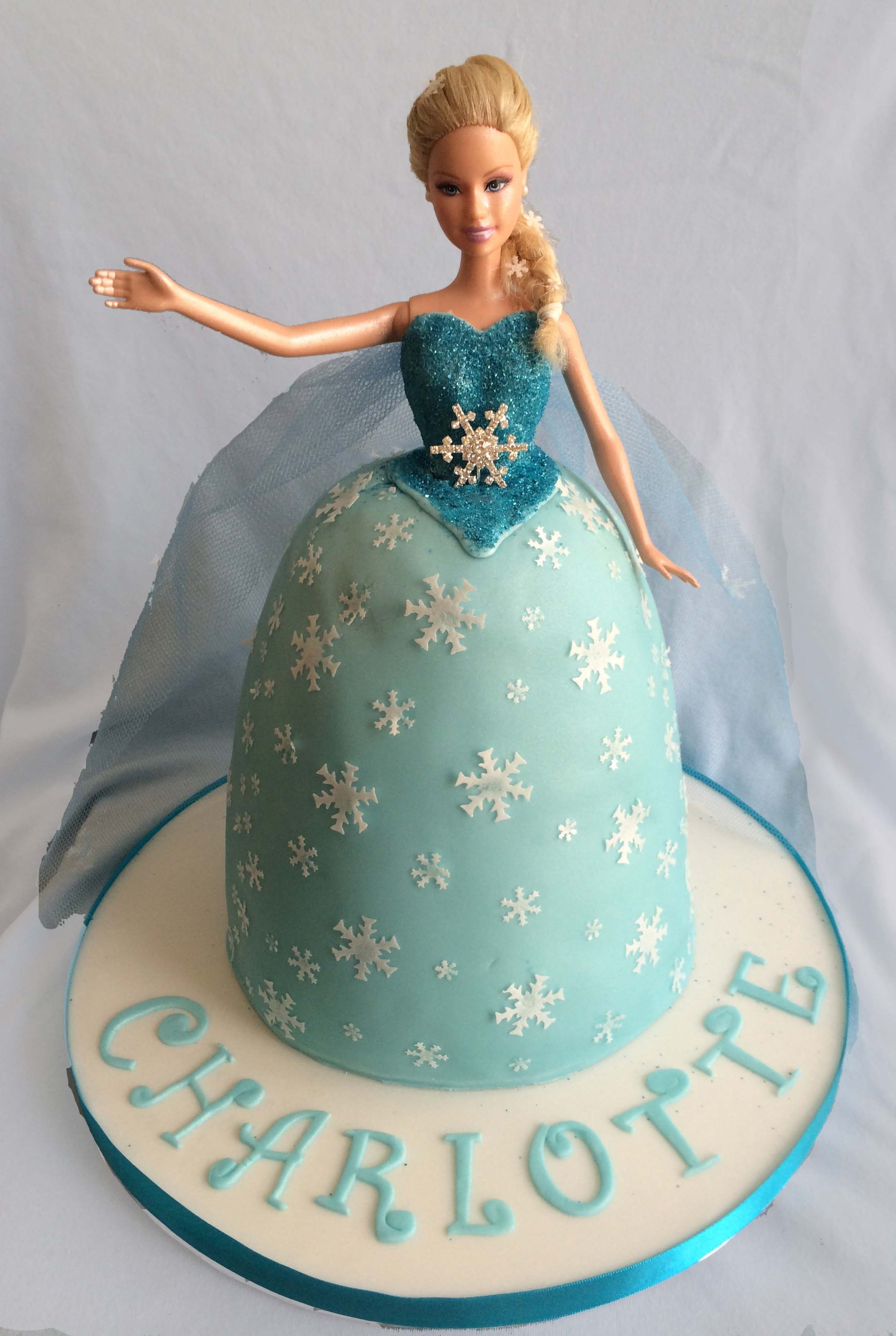 Barbie as Elsa
