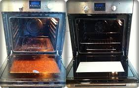 dirty clean oven