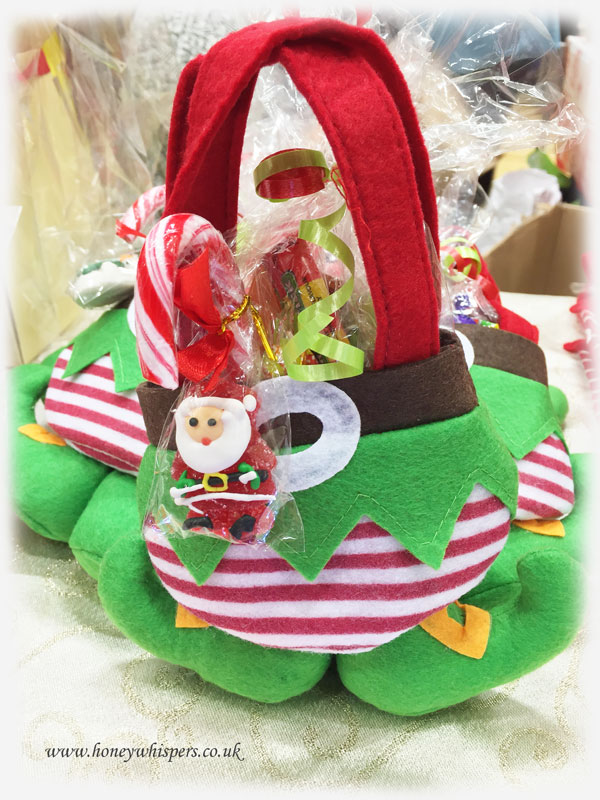 Elf Pants sweet treat bag.
