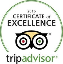 The Hunters Lodge Hotel won a TripAdvisor Certificate of Excellence in 2014