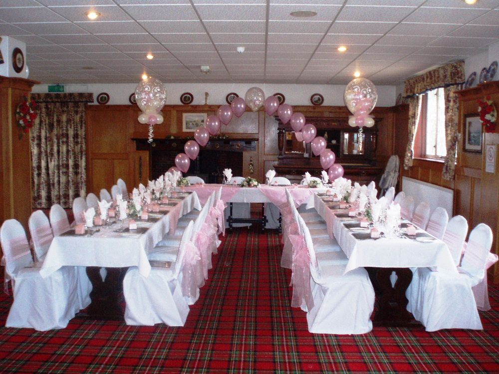 wedding receptions at Hunters Lodge Hotel Gretna
