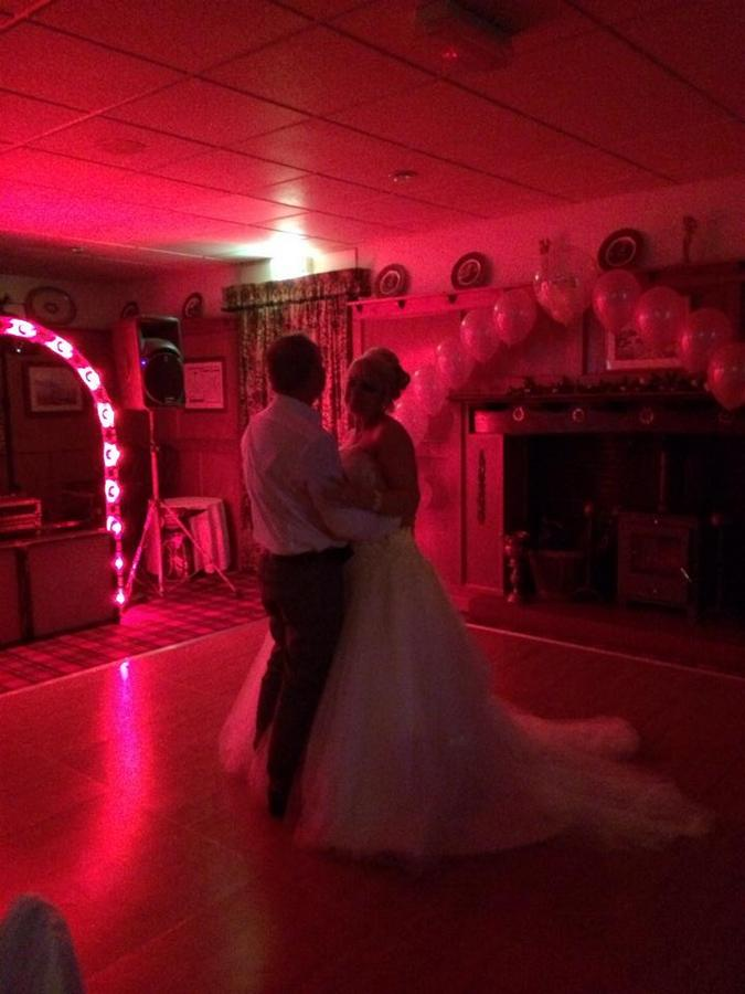 Evening disco at Hunters Lodge Hotel