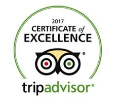 Hunter's Lodge Hotel Gretna has been awarded the 2017 Certificate of Excellence by TripAdvisor