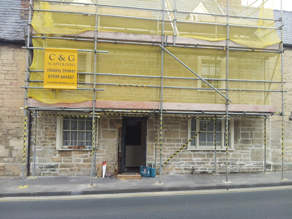 cotswold stone repointed