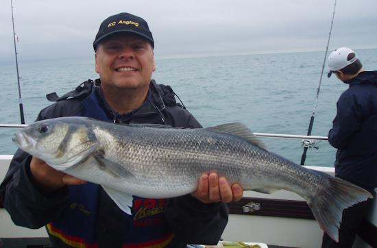 Bass fishing Spirit of Arun Littlehampton