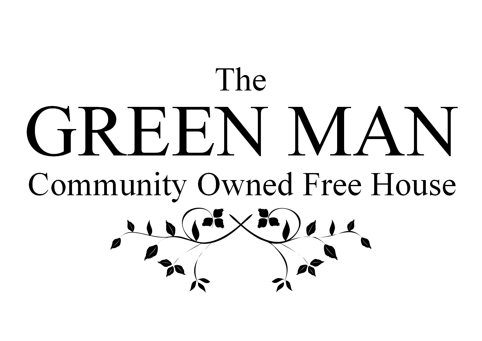 The Green Man Logo