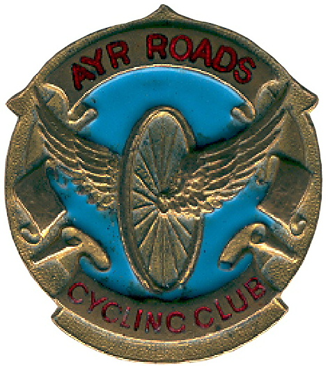 The original logo of the Ayr Roads Cycling Club