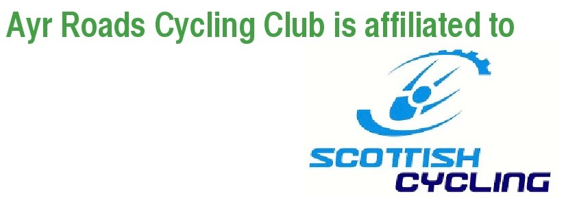 Logo for Scottish Cycling, part of the British Cycling Federation