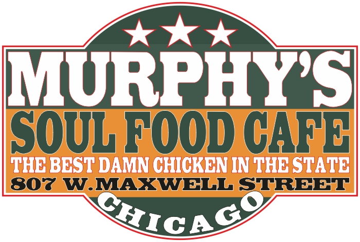 Mens White T Shirt Blues Brothers Murphys Soul Food Cafe T Shirt