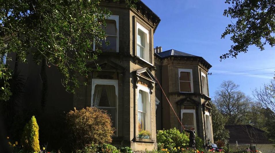 Window cleaners Swansea