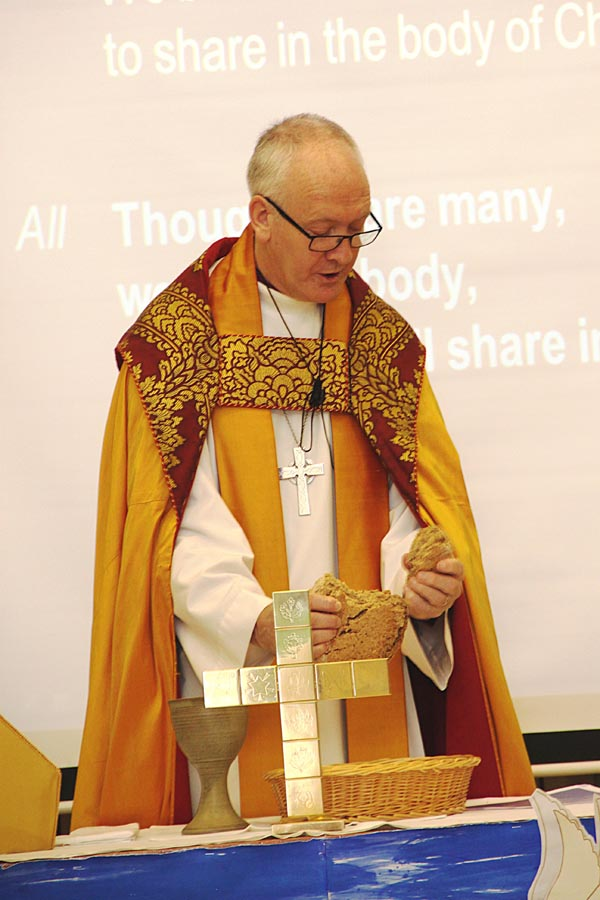 Bishop Nick celebrates Mass in our School