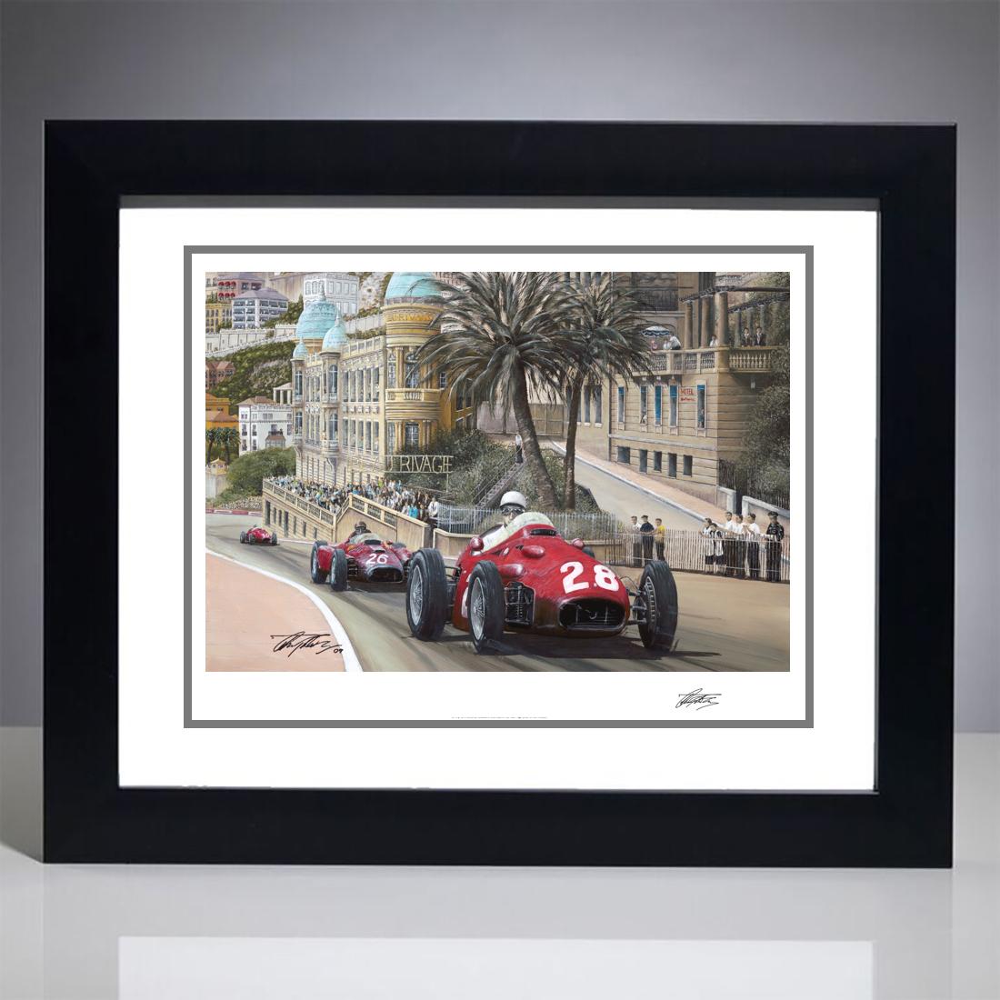 1956 Monaco Grand Prix Giclee