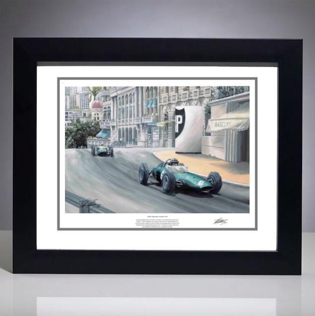 1963 Monaco Grand Prix Print