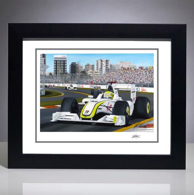 2009 Australian Grand Prix Giclee