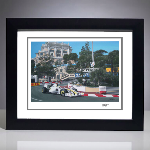 2009 Monaco Grand Prix Giclee