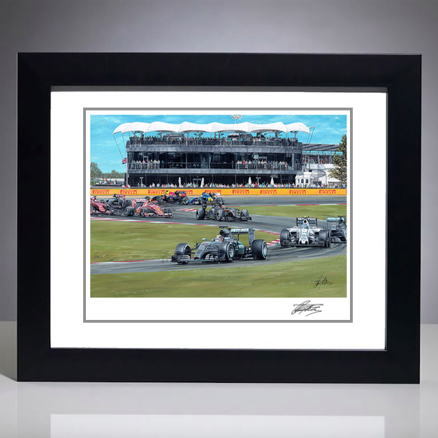 2015 British Grand Prix Giclee
