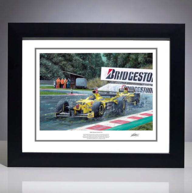 1998 Belgian Grand Prix Print