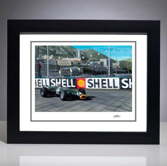 1966 Monaco Grand Prix Giclee