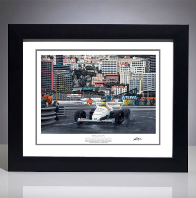 1984 Monaco Print