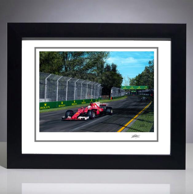 2017 Australian Grand Prix Giclee