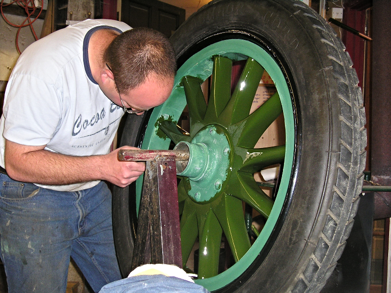 Painting your wheels