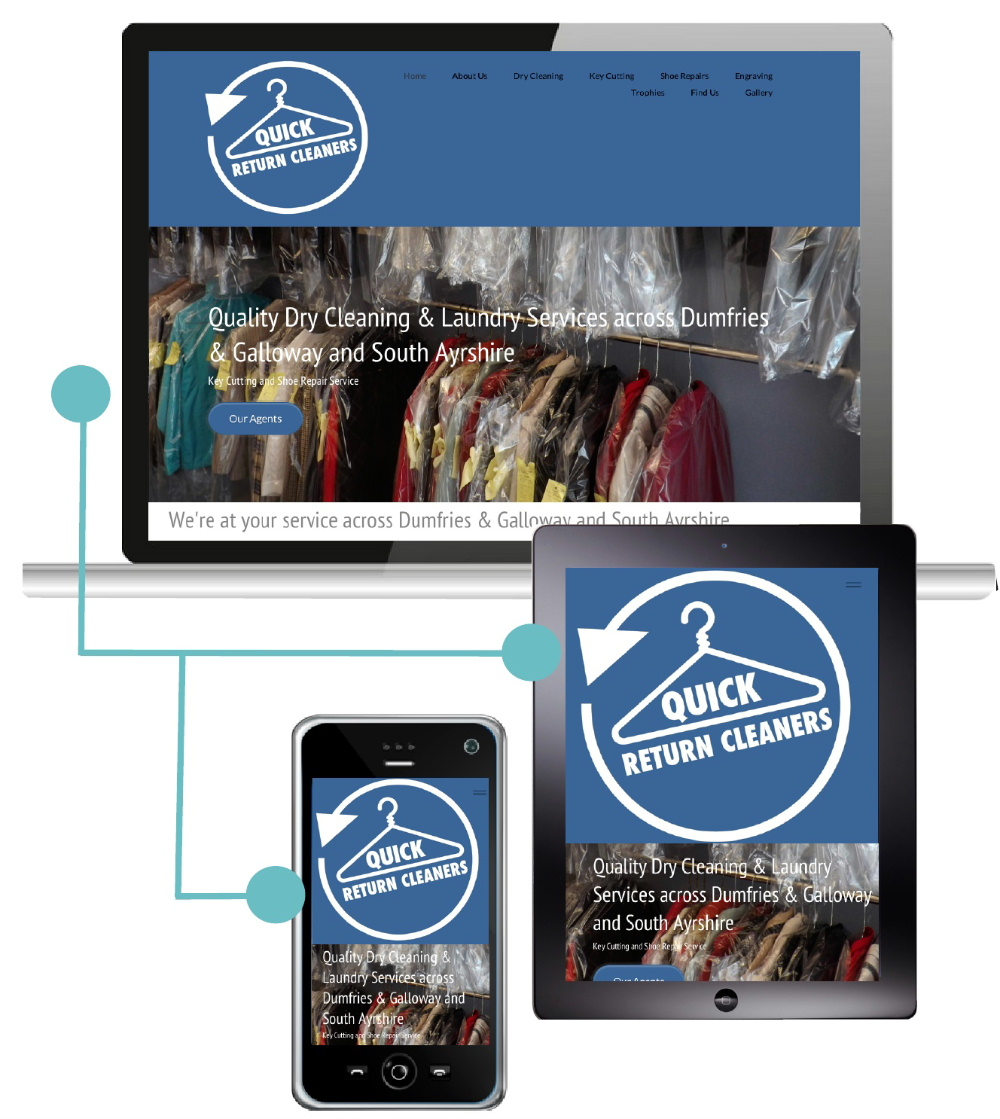 Quick Return Cleaners Shose Greatvaluewebsites To Build Their  Responsive Website