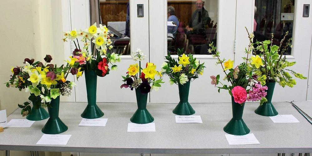 Vase of Mixed Garden Flowers