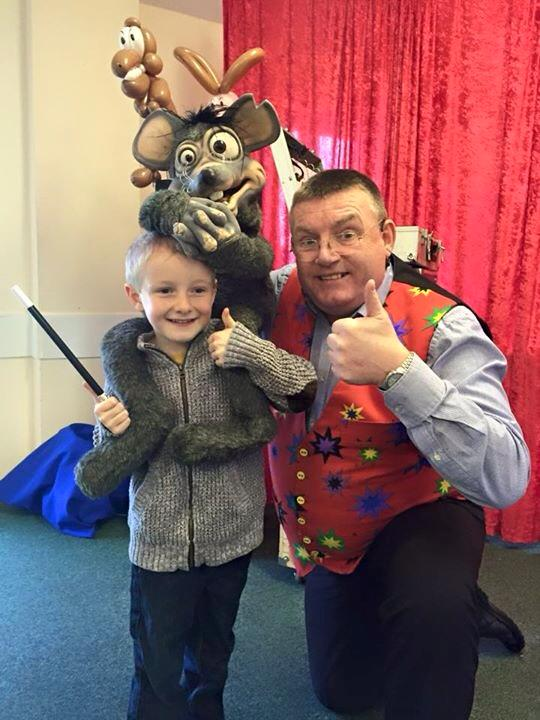 kids party entertainers exeter