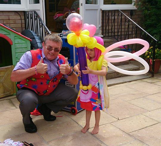 childrens party entertainers devon