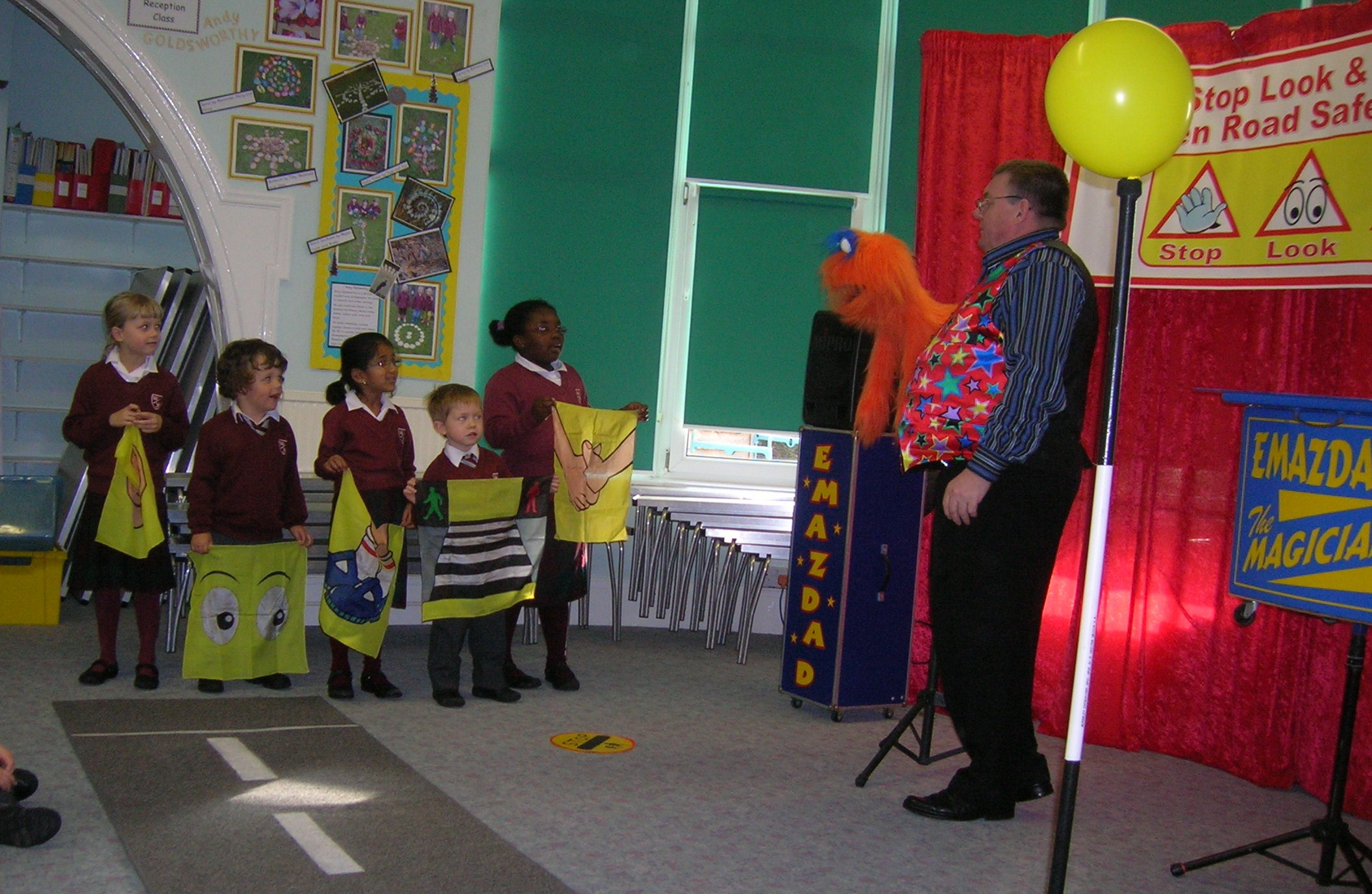The Stop Look and Listen Road Safety Show.