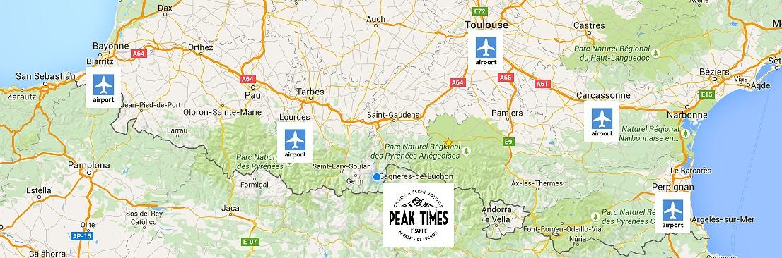 Pyrenees airports