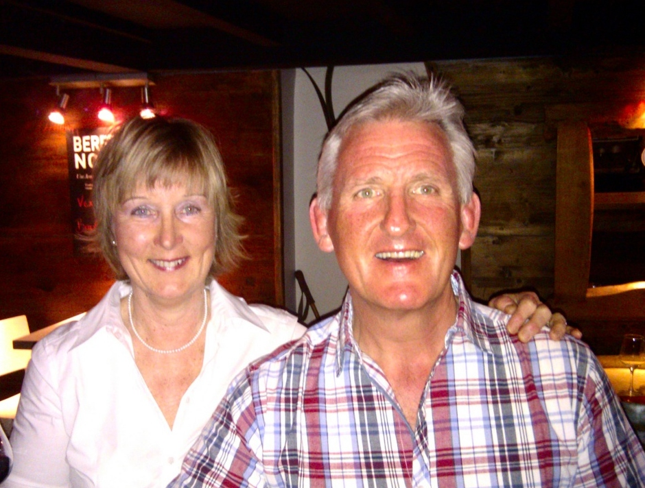 Peak Times owners Mike & Annette